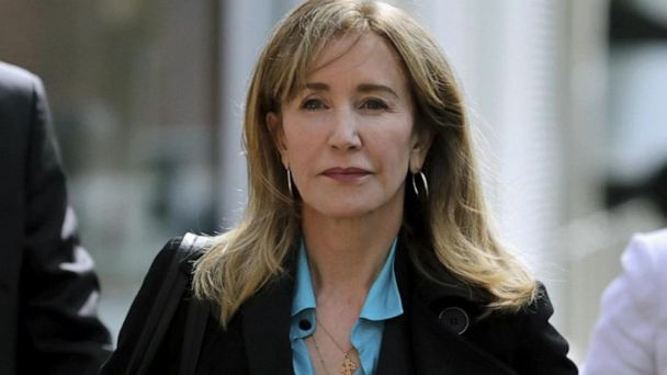 Felicity Huffman released from prison