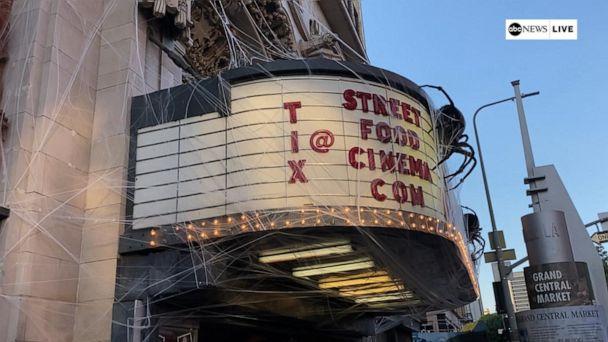 Inside Cinema Phantasmagoria at the Million Dollar Theater in Los Angeles
