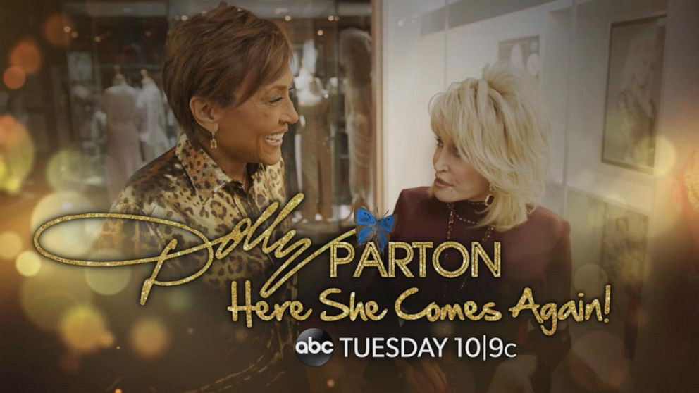 'Dolly Parton: Here She Comes Again!' | Premieres Tuesday Night at 10|9c on ABC
