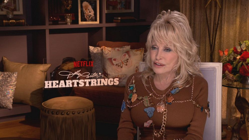 """Dolly Parton on Kathleen Turner and """"These Old Bones"""""""