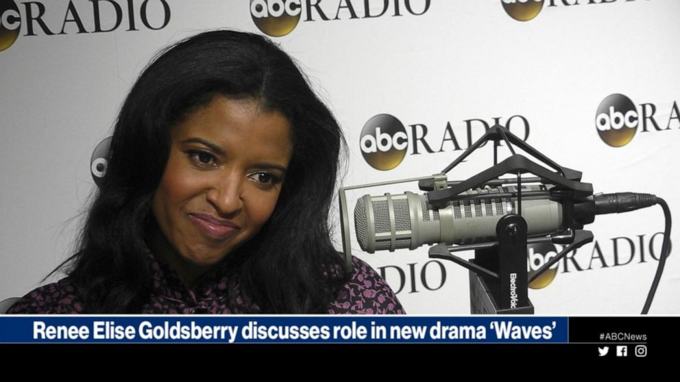 Renee Elise Goldsberry discusses her role in the captivating drama 'Waves'