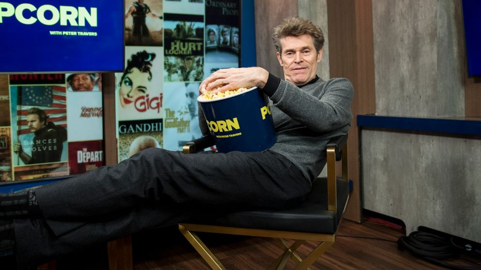 Willem Dafoe on 'The Lighthouse,' working with Robert Pattinson