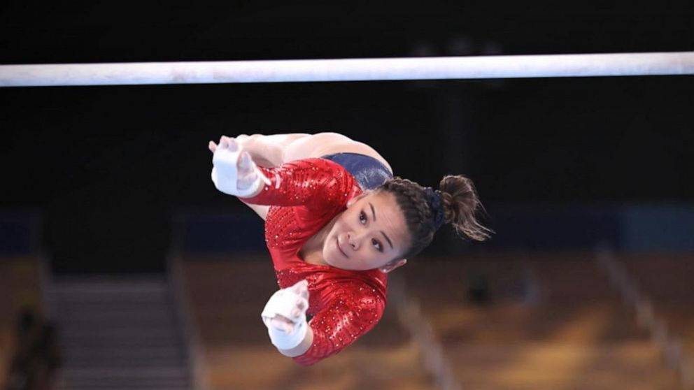 Suni Lee wins gymnastics all-around gold after Simone Biles steps aside