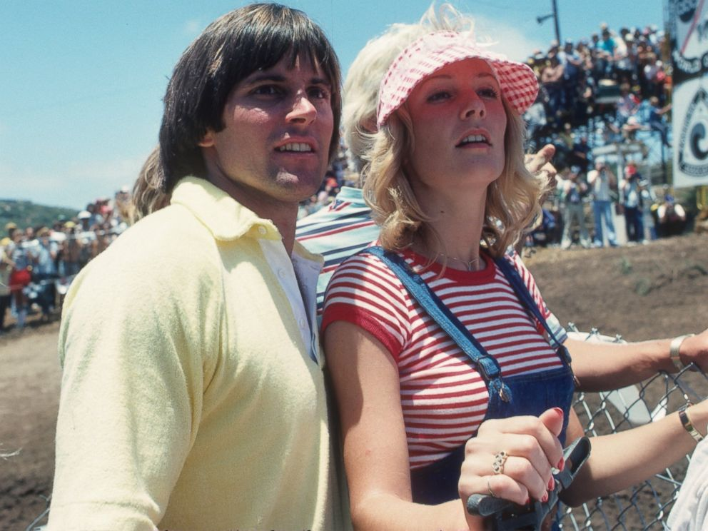 PHOTO: Olympic Gold medalist and ABC Wide World of Sports television personality Bruce Jenner with his wife, Chrystie Crownover attend the Carlsbad US Grand Prix, in Carlsbad, Calif., June 19, 1977.