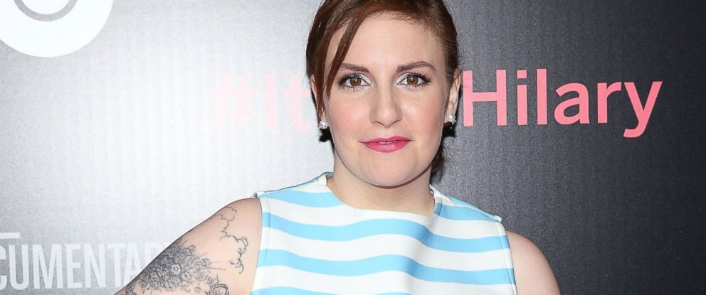 "PHOTO: Lena Dunham attends ""Its Me, Hilary: The Man Who Drew Eloise"" New York screening at The Plaza Hotel on March 16, 2015 in New York City."