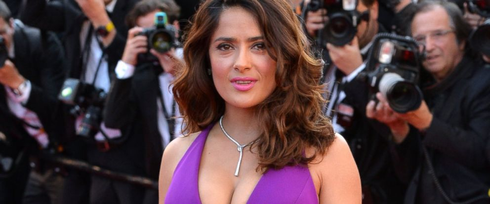 "PHOTO: Salma Hayek attends the ""Carol"" premiere during the 68th annual Cannes Film Festival, May 17, 2015, in Cannes, France."