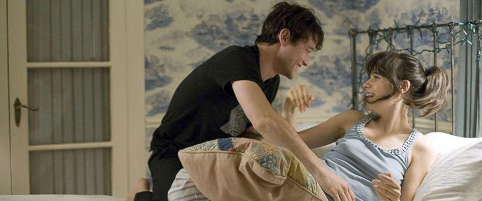 "PHOTO: Joseph Gordon-Levitt and Zooey Deschanel in a scene from ""500 Days of Summer."""