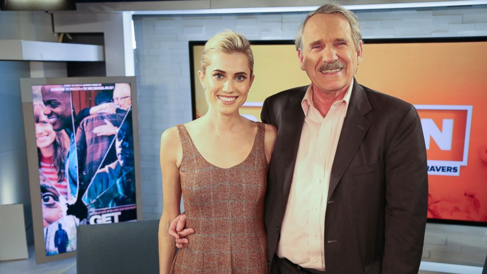 "Allison Williams appeared on ""Popcorn with Peter Travers,"" Feb. 23, 2016, in New York City."