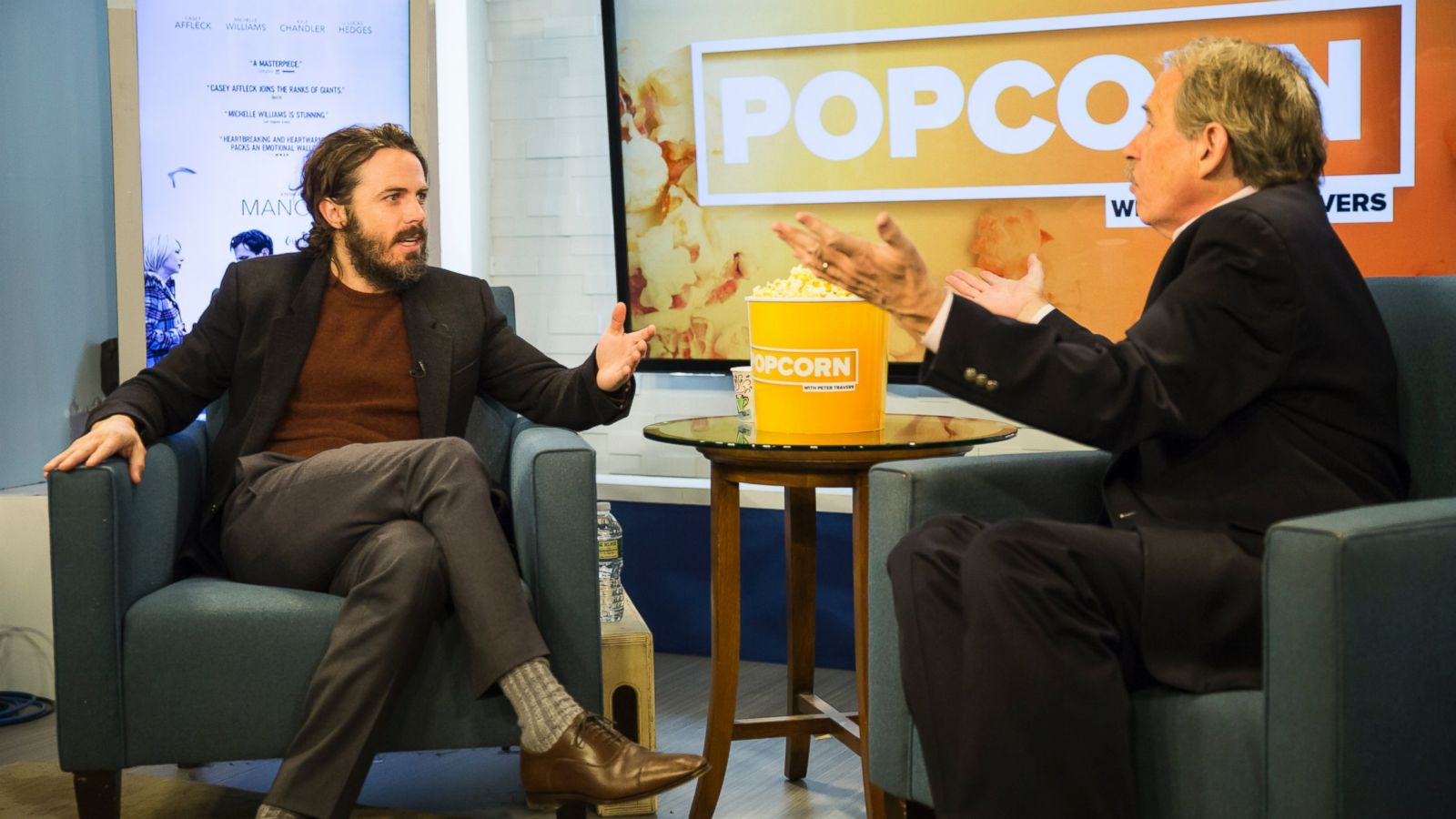 Oscar nominee Casey Affleck talks about his role in 'Manchester by the Sea'