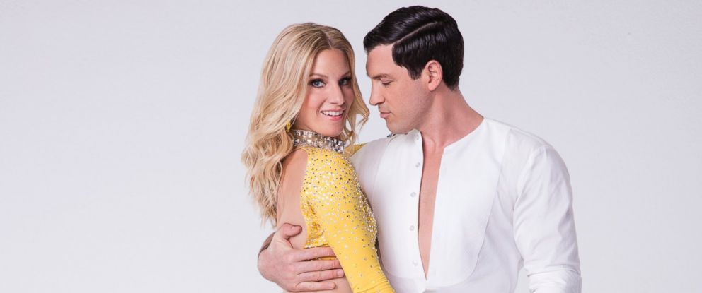 "PHOTO: Heather Morris will compete with pro Maksim Chmerkovskiy on the new season of ""Dancing With the Stars."""