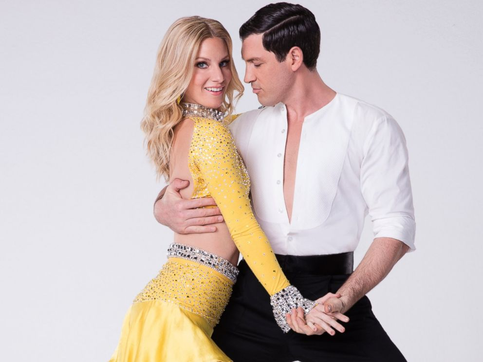 PHOTO: Heather Morris will compete with pro Maksim Chmerkovskiy on the new season of Dancing With the Stars.