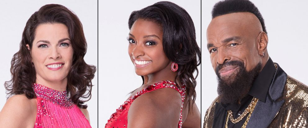 "PHOTO: Nancy Kerrigan, Simone Biles and Mr. T will compete on the new season of ""Dancing With the Stars."""