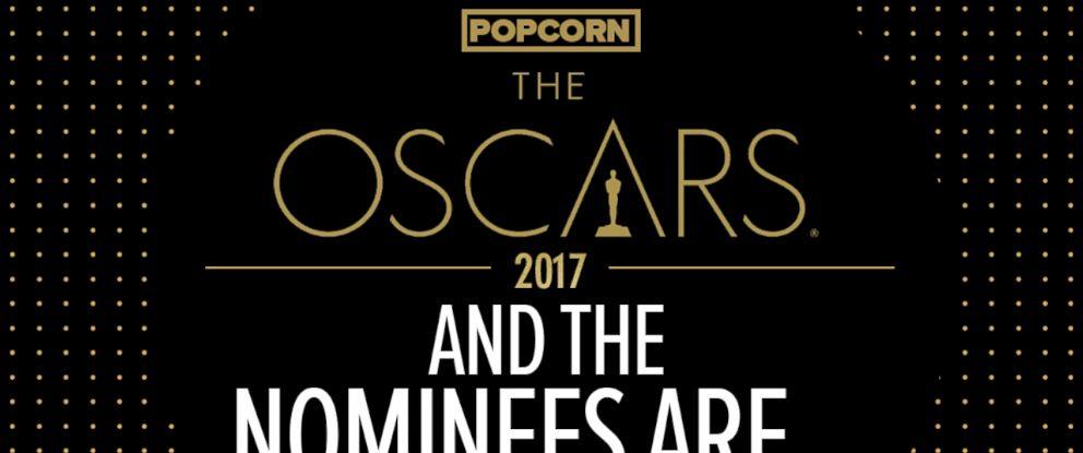 PHOTO: Oscar Nominations graphic.
