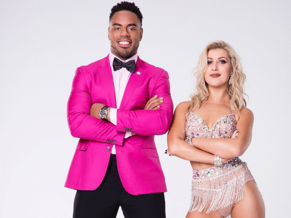 PHOTO: Rashad Jennings will compete with pro Emma Slater on the new season of Dancing With the Stars.