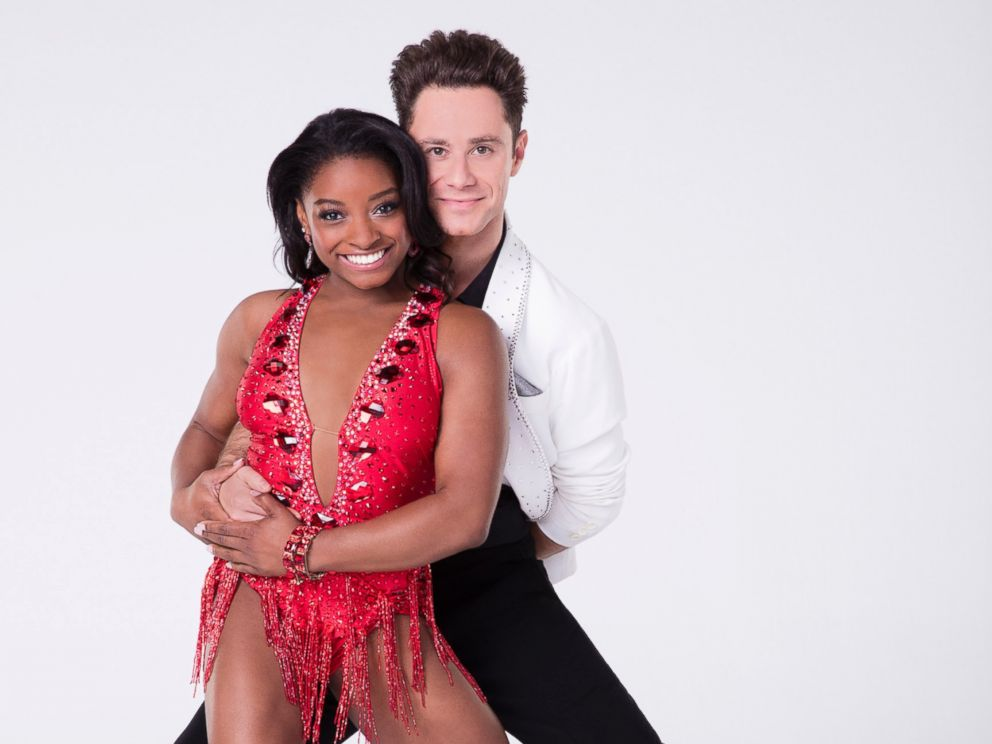 PHOTO: Simone Biles will compete with pro Sasha Farber on the new season of Dancing With the Stars.