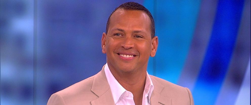 """PHOTO: Alex Rodriguez appeared on """"The View,"""" March 31, 2017."""