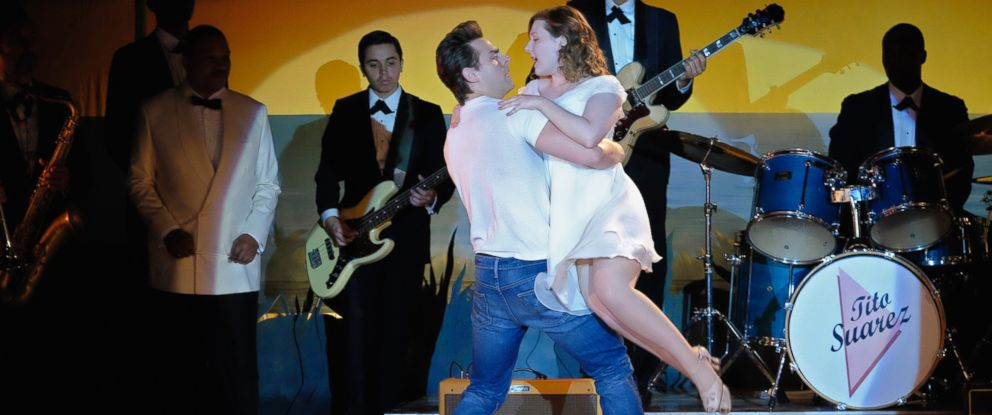 "PHOTO: Colt Prattes and Abigail Breslin in the remake of ""Dirty Dancing,"" that will air on ABC TV."