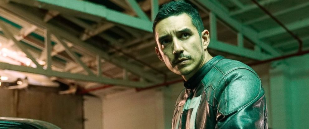 """PHOTO: Gabriel Luna as Ghost Rider in a scene from """"Marvels Agents of S.H.I.E.L.D."""""""