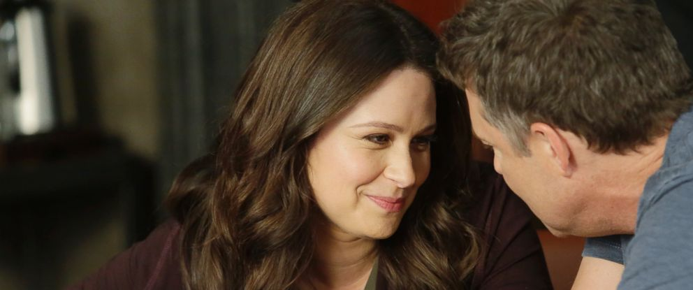 """PHOTO: Katie Lowes and George Newbern in ABCs """"Scandal."""""""