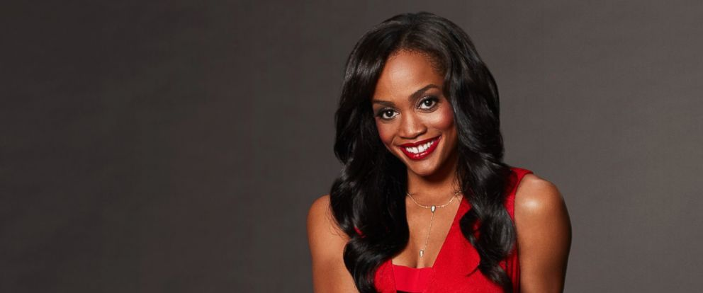 "PHOTO: Rachel Lindsay is pictured in a publicity photo for ""The Bachelorette."""