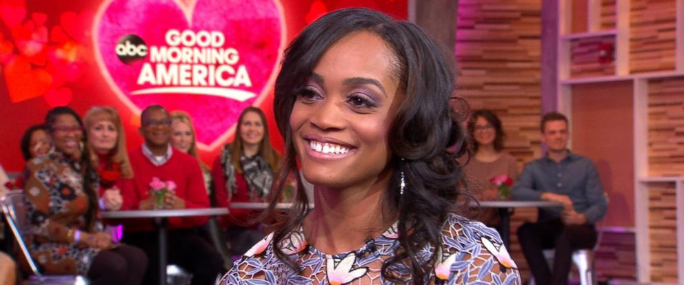 """PHOTO: Rachel Lindsay, an attorney from Texas, is making history by being named the first-ever African-American """"Bachelorette."""""""