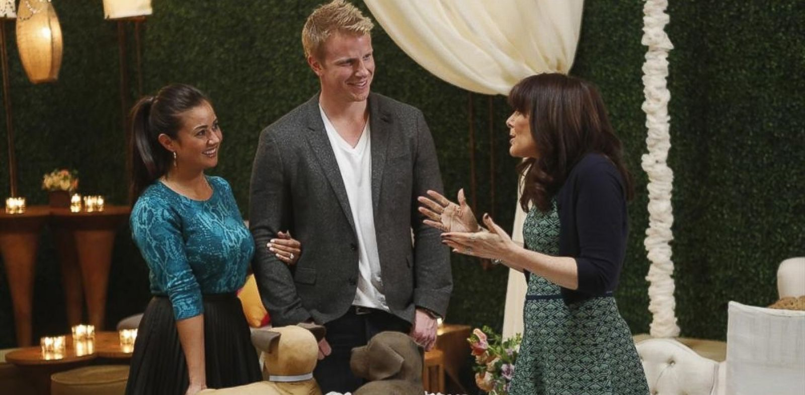"""PHOTO: Sean Lowe and Catherine Giudici, the latest to join other """"Bachelor"""" couples who have walked down the aisle, will share a dramatic new chapter of their love story."""
