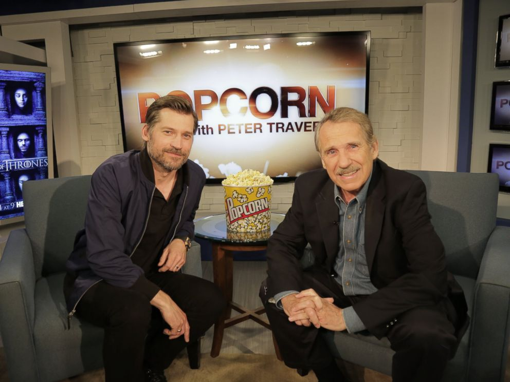 PHOTO: Game of Thrones star Nikolaj Coster-Waldau discussed his role as Jaime Lannister with Peter Travers on ABC News Popcorn With Peter Travers.
