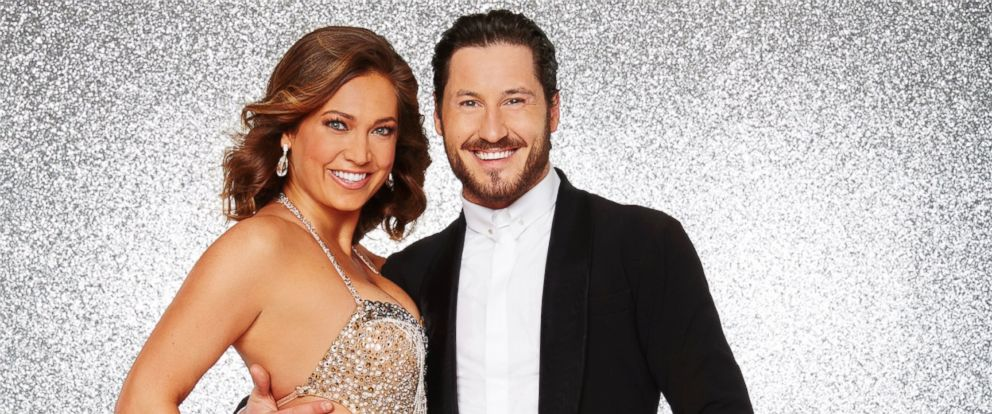 "PHOTO: ""Good Morning America"" meteorologist Ginger Zee is competing on season 22 of ABCs ""Dancing With the Stars"" with her pro partner, Val Chmerkovskiy."