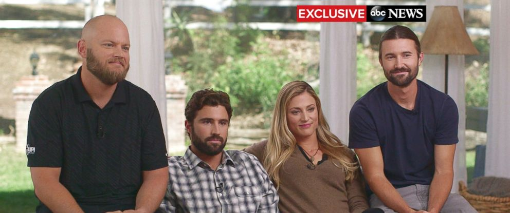 """PHOTO: Four of Jenner's children, Burt, Cassandra, Brandon and Brody, sat down for an exclusive interview with ABC's Diane Sawyer in a special edition of """"20/20."""""""