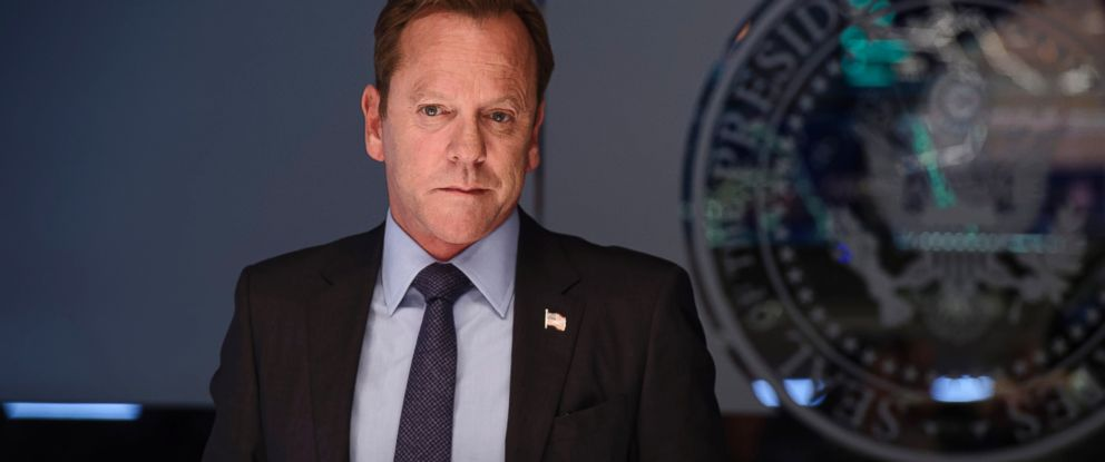 """PHOTO: Kiefer Sutherland, who plays Kirkman on ABCs """"Designated Survivor,"""" learns who is behind the attack and needs to grapple not only with the prospect of war, but brewing domestic troubles as well, Oct. 12, 2016."""