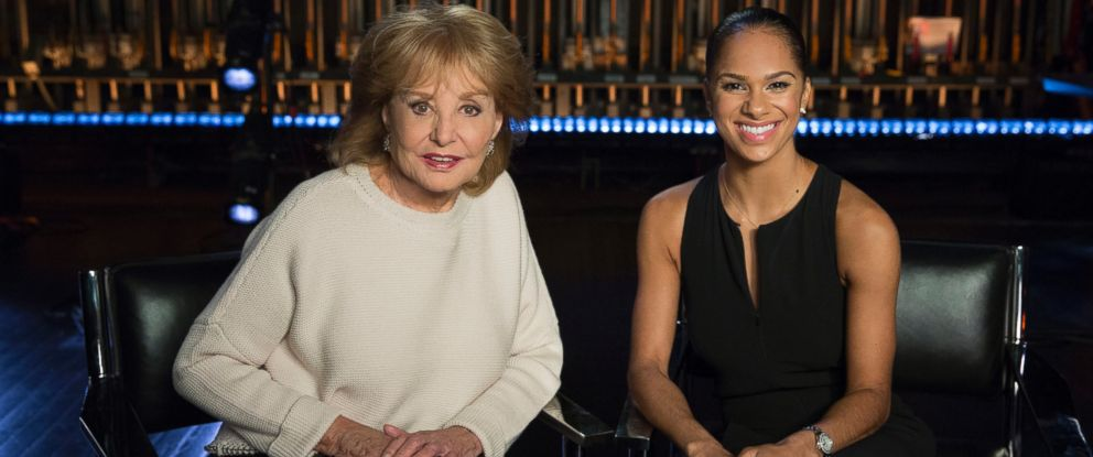 """Barbara Walters interviews Misty Copeland for the ABC News special, """"Barbara Walters Presents: The 10 Most Fascinating People of 2015."""""""