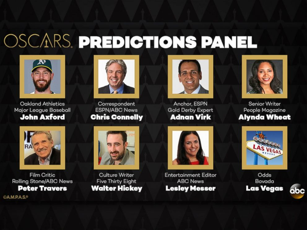 PHOTO: The Oscar Predictions Panel for 2016.