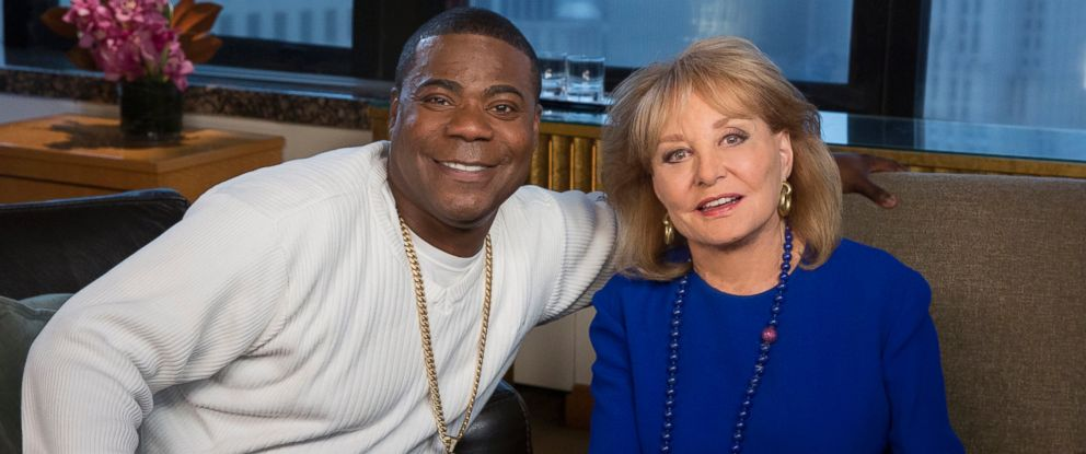 "Barbara Walters talks to Tracy Morgan for the ABC News special, ""Barbara Walters Presents: The 10 Most Fascinating People of 2015."""