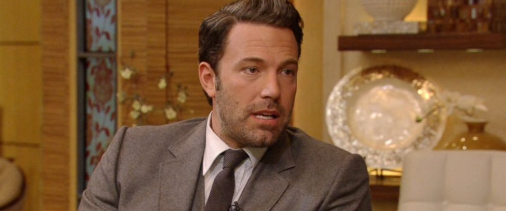 "PHOTO: Ben Affleck appears on the Sept. 29, 2014 episode of ""Live! with Kelly and Michael."""