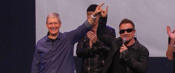 Apple (AAPL) Gives Away New U2 Album 'Songs of Innocence' to