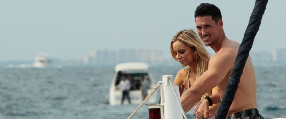 "PHOTO: Amanda Stanton and Josh Murray in ""Bachelor in Paradise."""