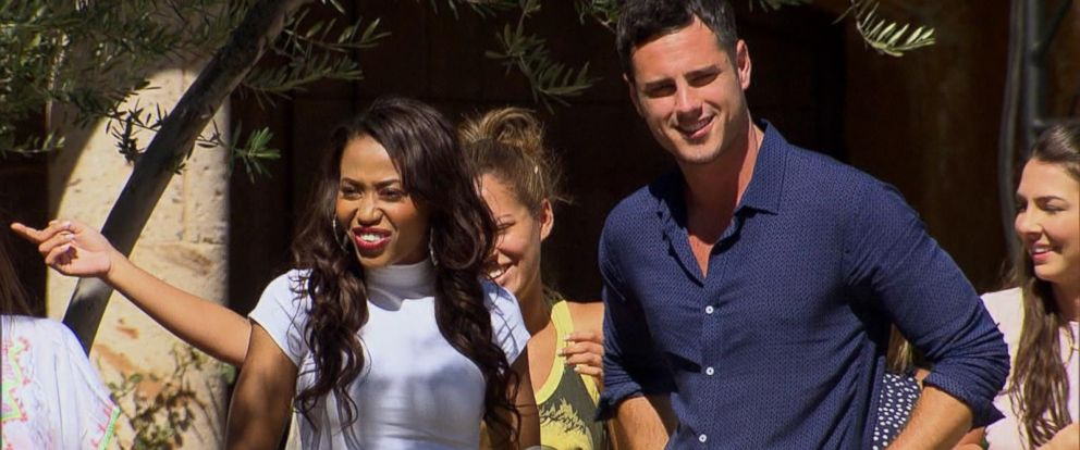 """PHOTO:Ben Higgins and Jubilee appear together on """"The Bachelor."""""""