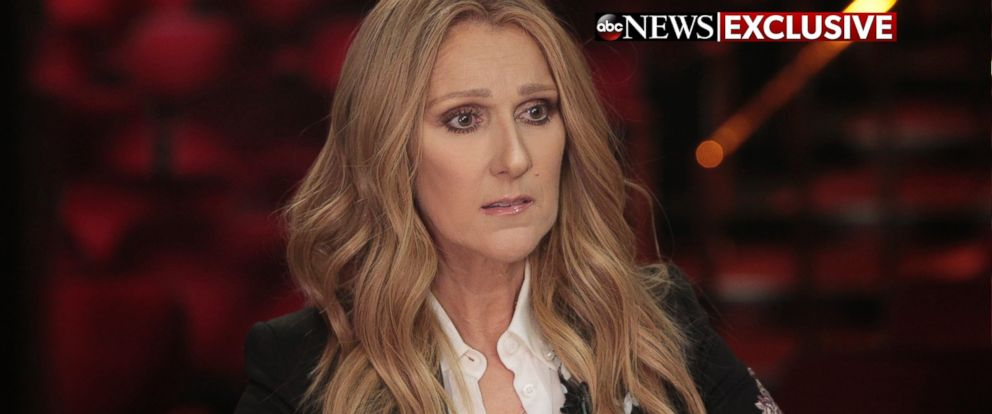 PHOTO:Celine Dion spoke with ABC News Deborah Roberts in Las Vegas about the the death of her husband, Rene Angelil.