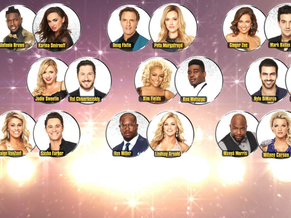 PHOTO: See the lineup of pairings for Switch Up Night on Dancing With the Stars, where each star is paired with a new professional dancer.