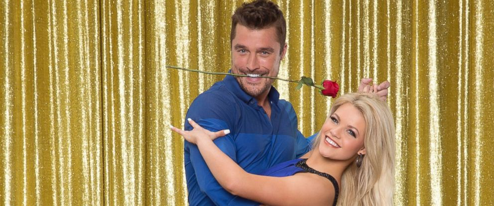 "PHOTO: Chris Soules and Witney Carson on the 10th anniversary celebrity cast of ""Dancing with the Stars."""