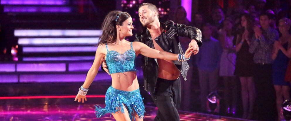 PHOTO: Danica McKeller and Valentin Chmerkovskiy dance on Dancing With The Stars.