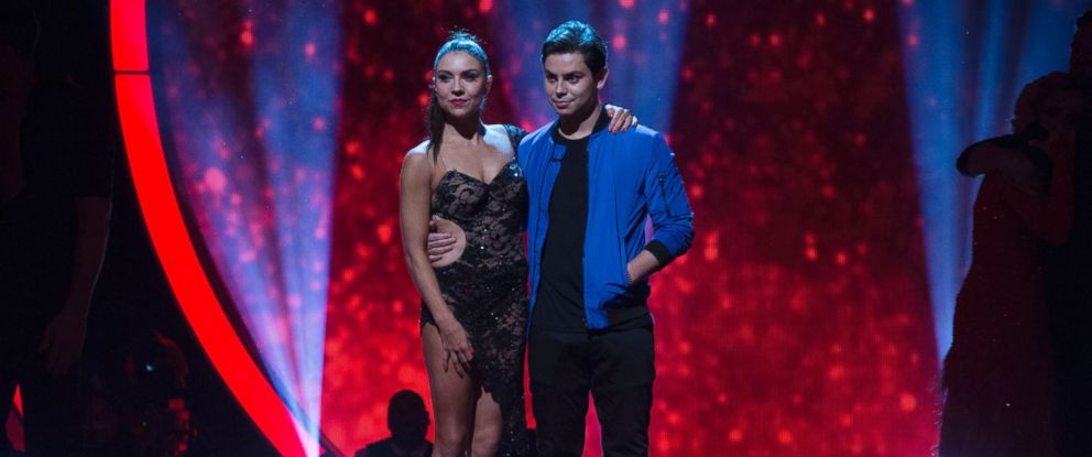 """PHOTO: Jenna Johnson and Jake T. Austin are seen here in an episode of """"Dancing with The Stars."""""""