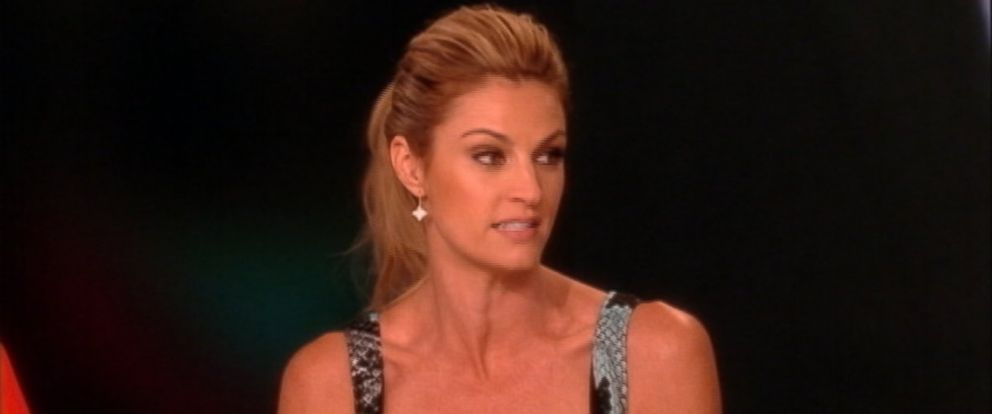 "PHOTO: Erin Andrews is pictured on ""The View"" on March 14, 2014."