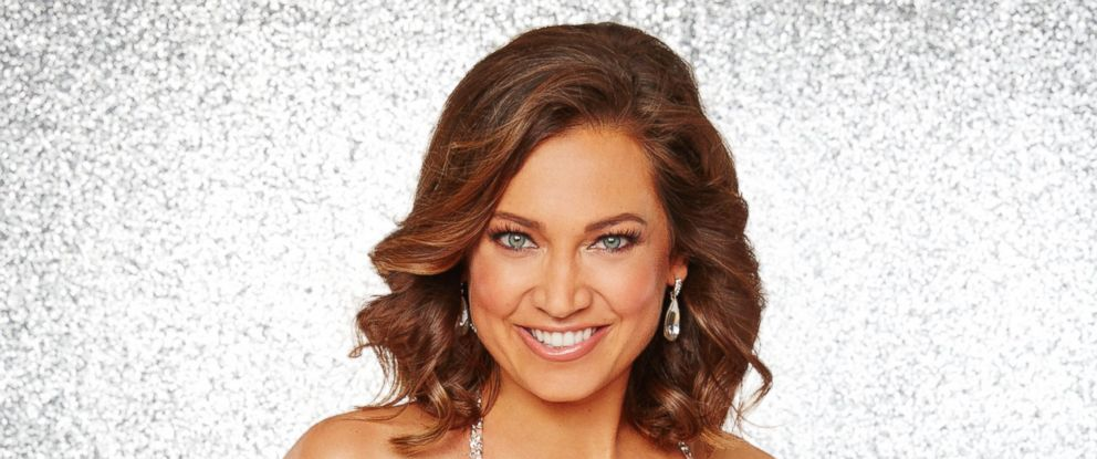 """PHOTO: Ginger Zee and the rest of the stars will grace the ballroom floor for the first time on live national television with their professional partners during the two-hour season premiere of """"Dancing with the Stars,"""" on Monday, March, 21, 2016."""