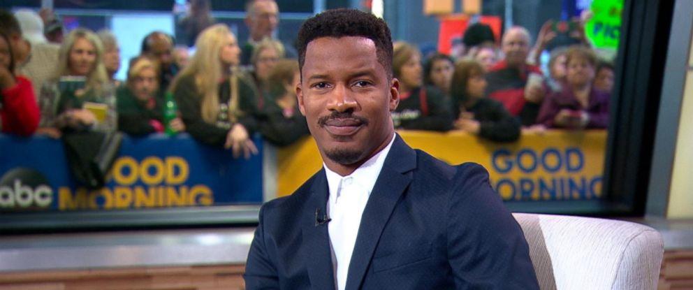 """PHOTO: Nate Parker is seen here on """"Good Morning America, Oct. 3, 2016."""
