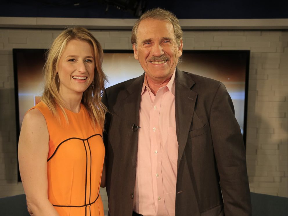 PHOTO: Mamie Gummer and Peter Travers are seen here.
