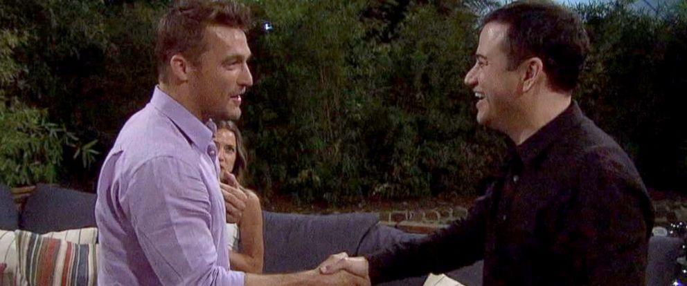 "PHOTO: Jimmy Kimmel crashes Chris Soules date on ""The Bachelor."""
