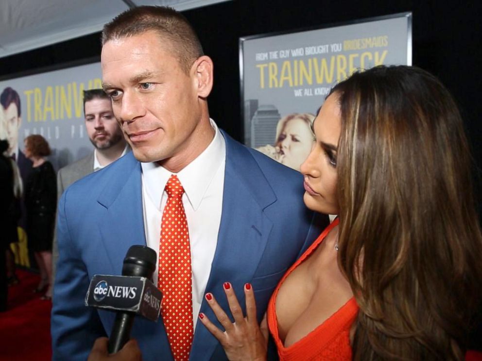 PHOTO: John Cena attends the red carpet premiere of Trainwreck.