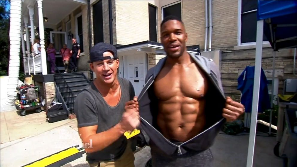 Michael Strahan Gives A Behind The Scenes Look At Magic Mike Xxl