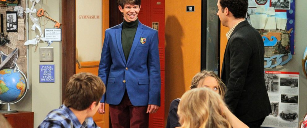 "PHOTO: A scene from the tv show ""Girl Meets World"" with Lee Norris and Ben Savage."